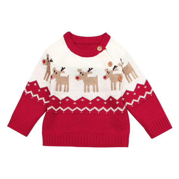 Christmas Moose Sweater