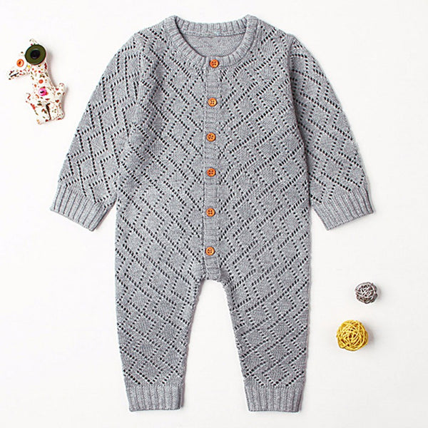 Boy Knitted Romper
