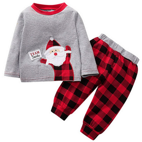 Team Santa Top + Pants