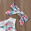 Floral Bodysuit with Headband
