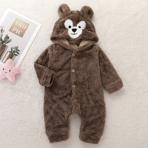 Cute Bear One-Piece