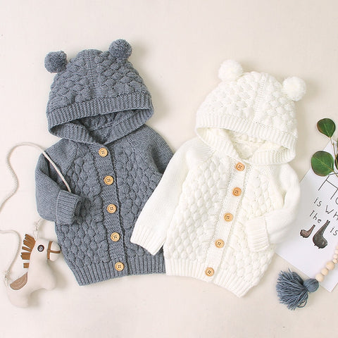 Hooded Winter Sweater