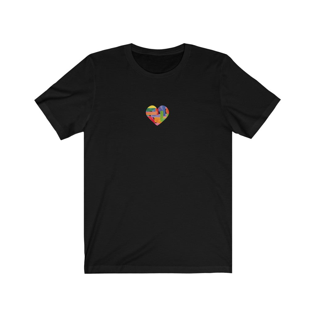 Pride Love Abstract Heart T-Shirt