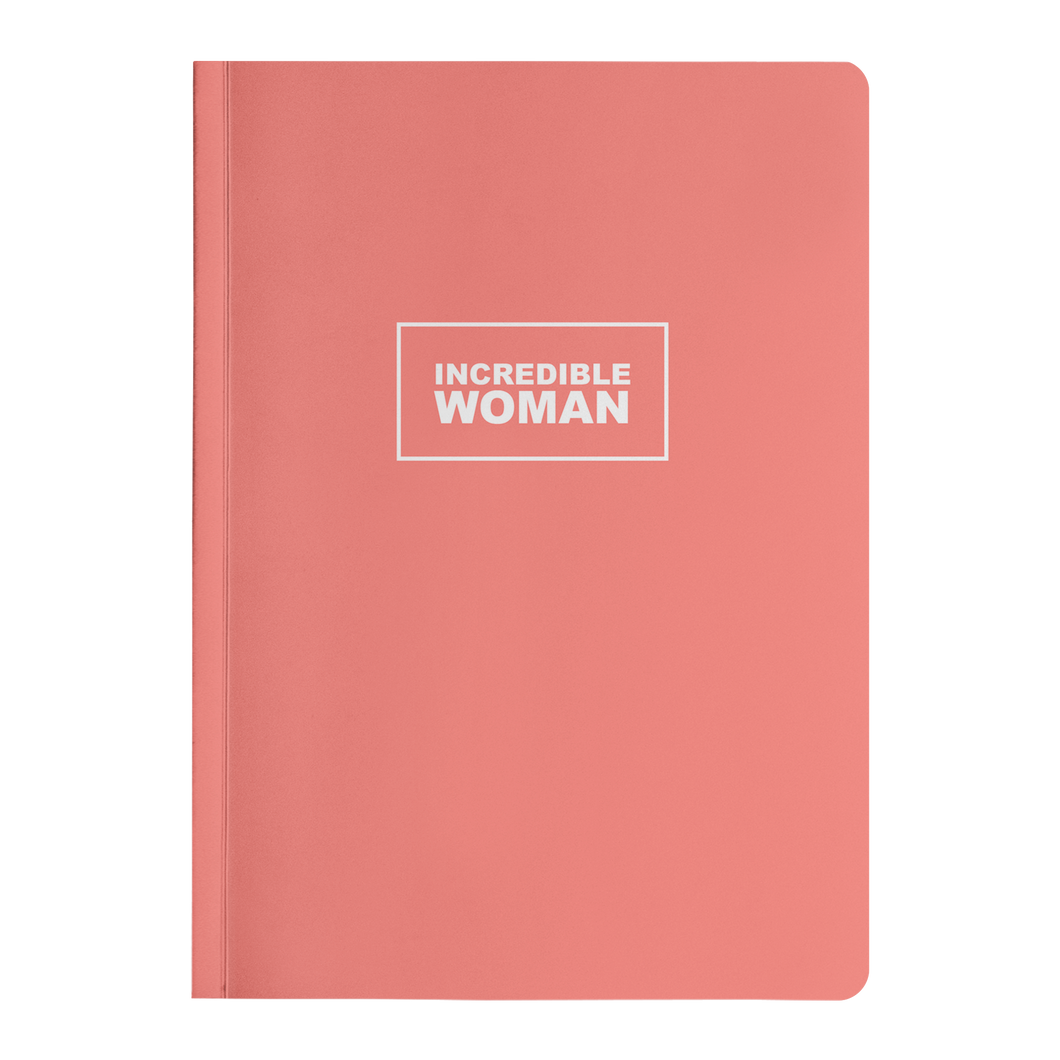 Incredible Woman Paperback Journal