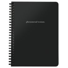 Load image into Gallery viewer, Phenomenal Woman Spiral Notebook