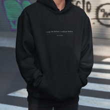 Load image into Gallery viewer, White Words Hoodie