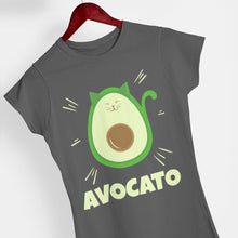 Load image into Gallery viewer, Avocato - Eco Vegan T-Shirt (Women's)