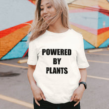 Load image into Gallery viewer, Powered By Plants - Eco Vegan T-Shirt (Women's)