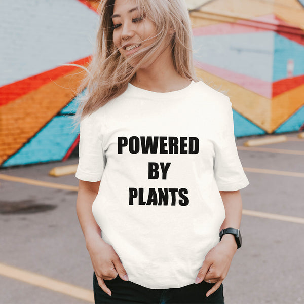 Powered By Plants - Eco Vegan T-Shirt (Women's)