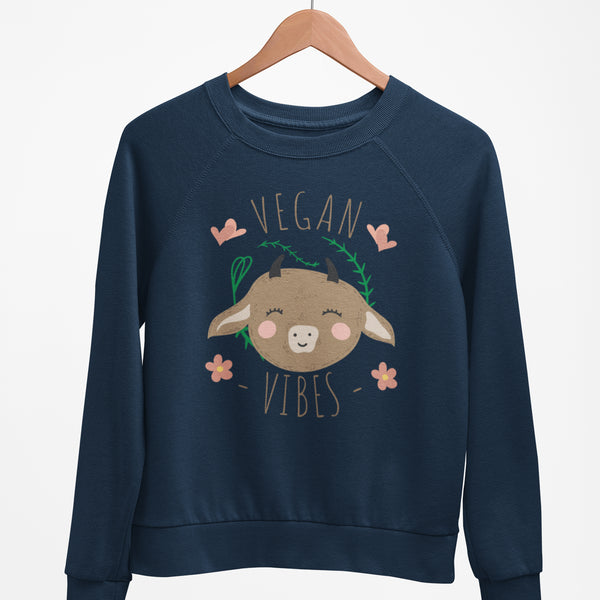 Vegan Vibes - Eco Vegan Sweater (Women's)