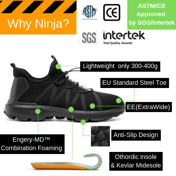 Why Ninja Ultralight™? Not Boots?