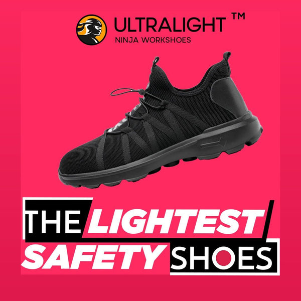 Ninja Ultralight | Lightest Safety Shoes In The World