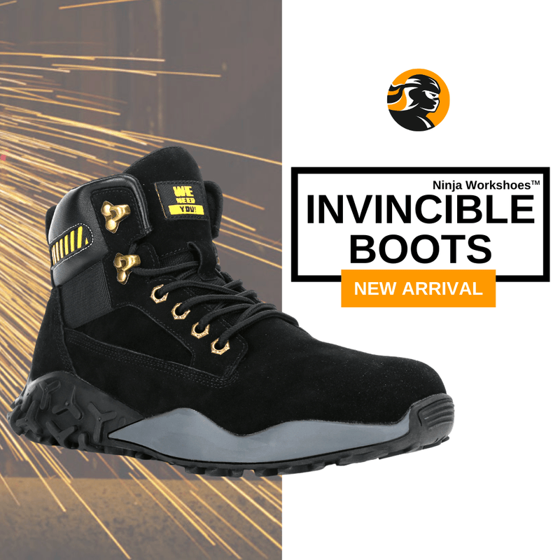 Ninja Invincible™ - Ninja Workshoes