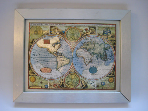 A New And Accvrat Map Of The World 1626.Wall Art One Offs