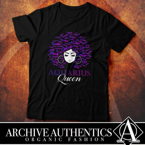 Aquarius Queen2 (Custom Tees)