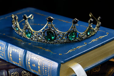 Gemstone Tiara~ Green