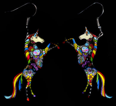 Earrings-Unicorn