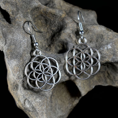 Earrings~Flower of Life