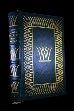 Walt Whitman-Leaves of Grass~Leather Bound Edition