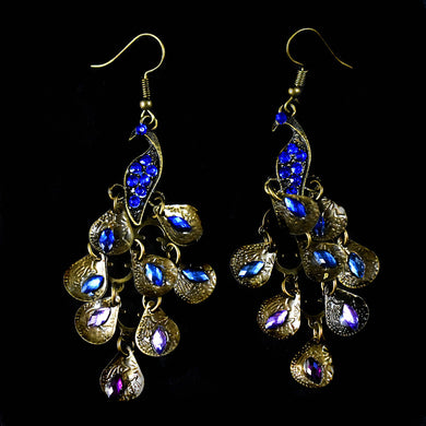 Earrings~Peacock