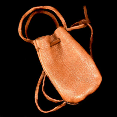 Medicine Bag~Small Leather