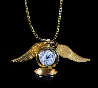 Harry Potter Pocket Watch~Golden Snitch