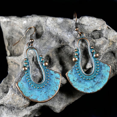 Earrings~ Southwestern Patina 2