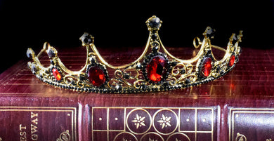 Gemstone Tiara~ Red