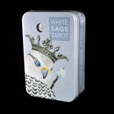 Tarot Deck~ White Sage Deck and Tin