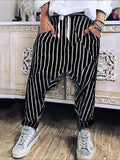 Men's Striped Haren Pants