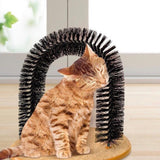 Cat brush brush scrubber cat