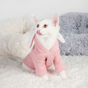 New Cute French Bulldog Hooded Coat Winter