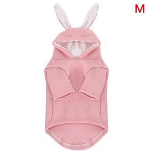 Cute Rabbit Ear New Design Pet Cat Hoodie Sweatshirt