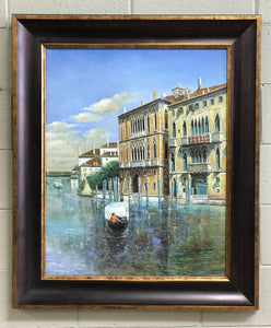 Framed Painting of Venice