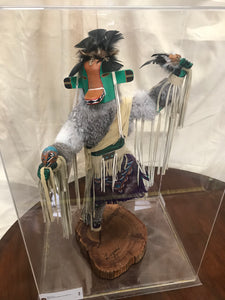 Large Kachina Doll in Lucite Case