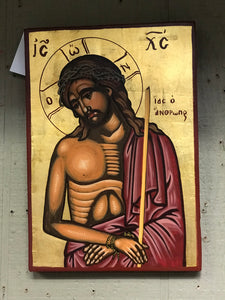 Hand Painted Icon on Board