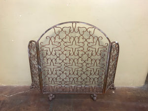 Tryptic Iron Fire Screen