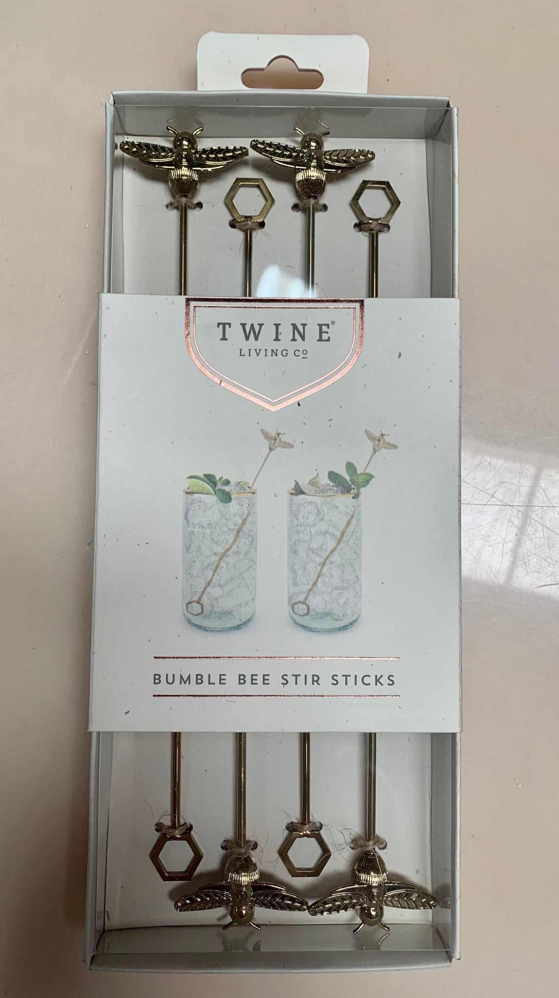 Bumble Bee Stir Sticks