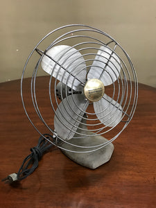 1950's table top electric fan in working condition.