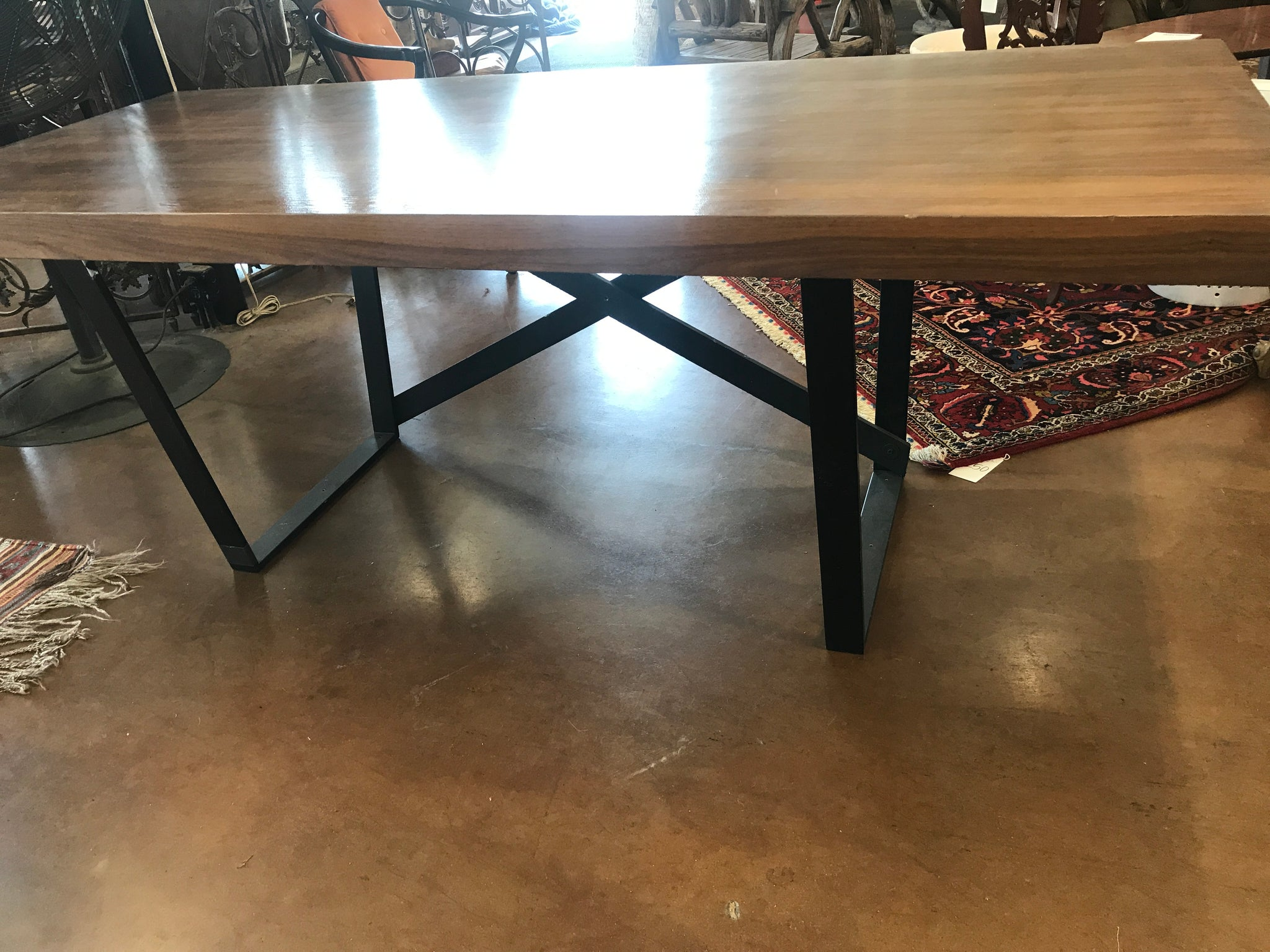 Modern Iron & Wood writing table
