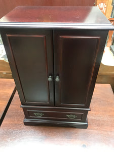 Table top Cherrywood jewelry cabinet