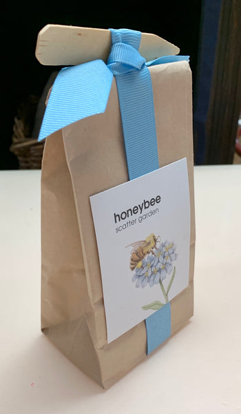 Honey Bee Scatter Garden Seeds