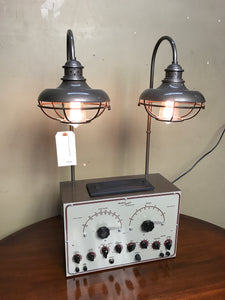Steam punk style lamp