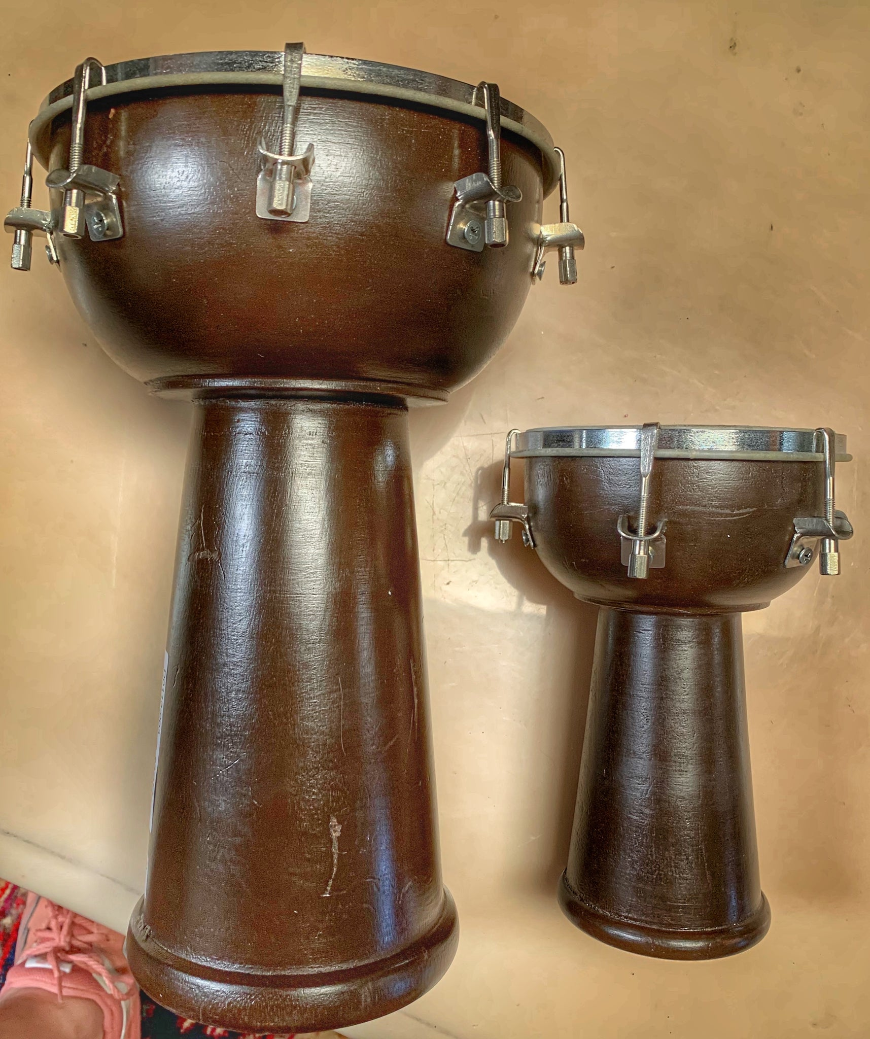 Small Drums in Various Sizes