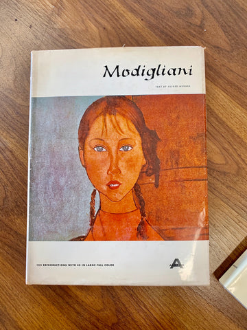 Modigliani Art with Color Reproductions