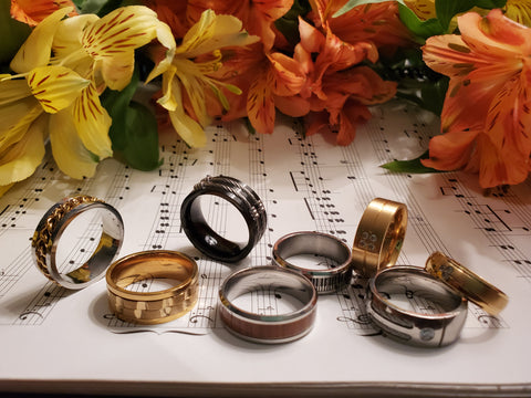 music jewelry for men goals self-help focus on me self help psychology