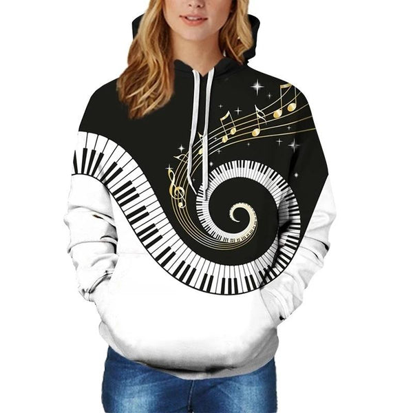 Swirl with the Music Sweatshirt/Hoodie