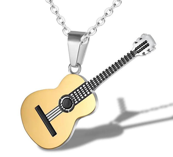 Acoustic Guitar Pendant - Expressing your vibe through Fashion