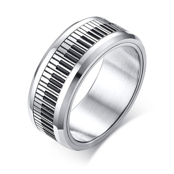 Elegant Piano Keyboard Ring- Play in Style