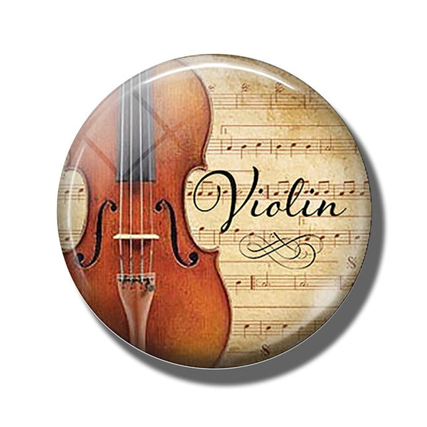 Violin Refrigerator Magnet | Practical Quality and Pure Passion